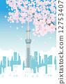 櫻桃樹 12753407