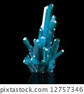 3d, crystal, blue 12757346