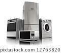 Home appliances. Set of household kitchen technics 12763820