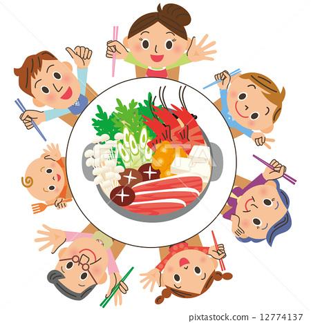12774137 pixta for Plat a manger entre amis