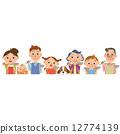 矢量 家庭 家族 12774139