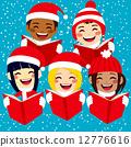 carol, singing, happy 12776616