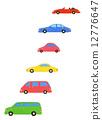 汽車 多彩 富有色彩的 12776647