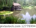 杭州西湖风光--柳浪闻莺 12776994