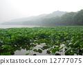 杭州西湖风光--宝石山 12777075