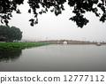 杭州西湖风光--断桥 12777112