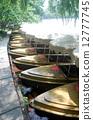 杭州西湖风光--游船 12777745