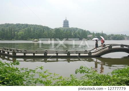 杭州西湖风光--雷峰塔 12777779