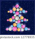 寶石 聖誕節 聖誕 12778935