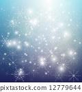vector, stars, snow 12779644