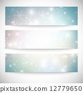 vector, stars, snow 12779650