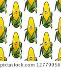 無縫的 玉米 穀物 12779956