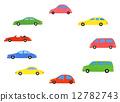 汽車 多彩 富有色彩的 12782743