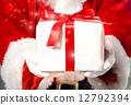 圣诞老人提供礼物 12792394