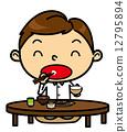 SD男性餐日本料理 12795894