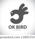 symbol, ok, icon 12805250