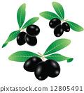Black olives 12805491