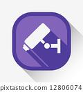 cctv, camera, icon 12806074