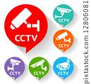 cctv, camera, bubble 12806081