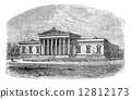 engraved, ancient, antique 12812173