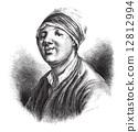 Jean-Baptiste Chappe d'Auteroche, vintage engraving 12812994