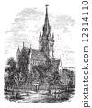 Christ Church Cathedral in Fredericton, New Brunswick, Canada vi 12814110