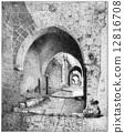 雕刻 古董 古老 12816708