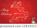 merry illustration christmas 12819323