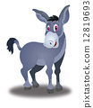 Donkey, illustration 12819693