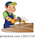 木匠 矢量 矢量图 12821714