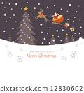 크리스마스의 밤 12830602