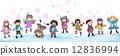 Winter Kids 12836994