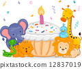 Birthday Animals 12837019