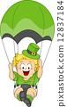 Baby Parachuting 12837184