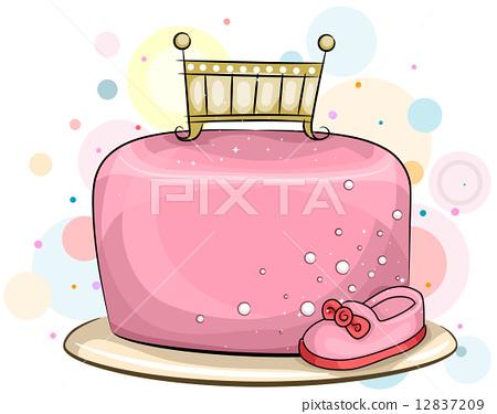Cake for Baby Girls 12837209