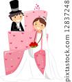 Wedding Cake 12837248