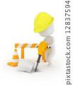 Man at Work 12837594