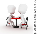 dating, 3d, couple 12837605