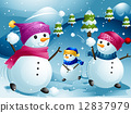Snowball Fight 12837979