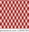 isometric, background, pattern 12846784