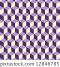isometric, background, pattern 12846785