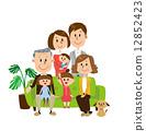 媽媽 老年夫婦 沙發 12852423