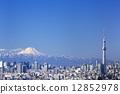 東京晴空塔 街道(店鋪和房屋) 市容 12852978