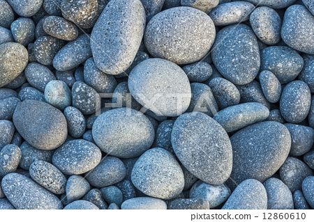 鵝卵石群的背景圖 12860610