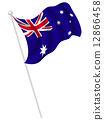 Australia Flag Country Flag 12866458