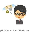 세금 보험 불경기 채무 대출 [등신 시리즈] 12868249