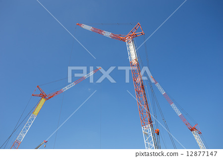Crane car 12877147