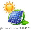 仪表板 太阳能 太阳系 12884261