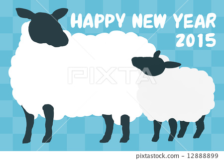 sheep happy new year 2015 year of the sheep 12888899