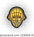 DJ headphones 12889416